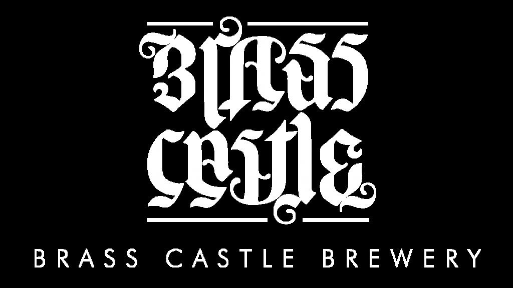 brass castle logo white